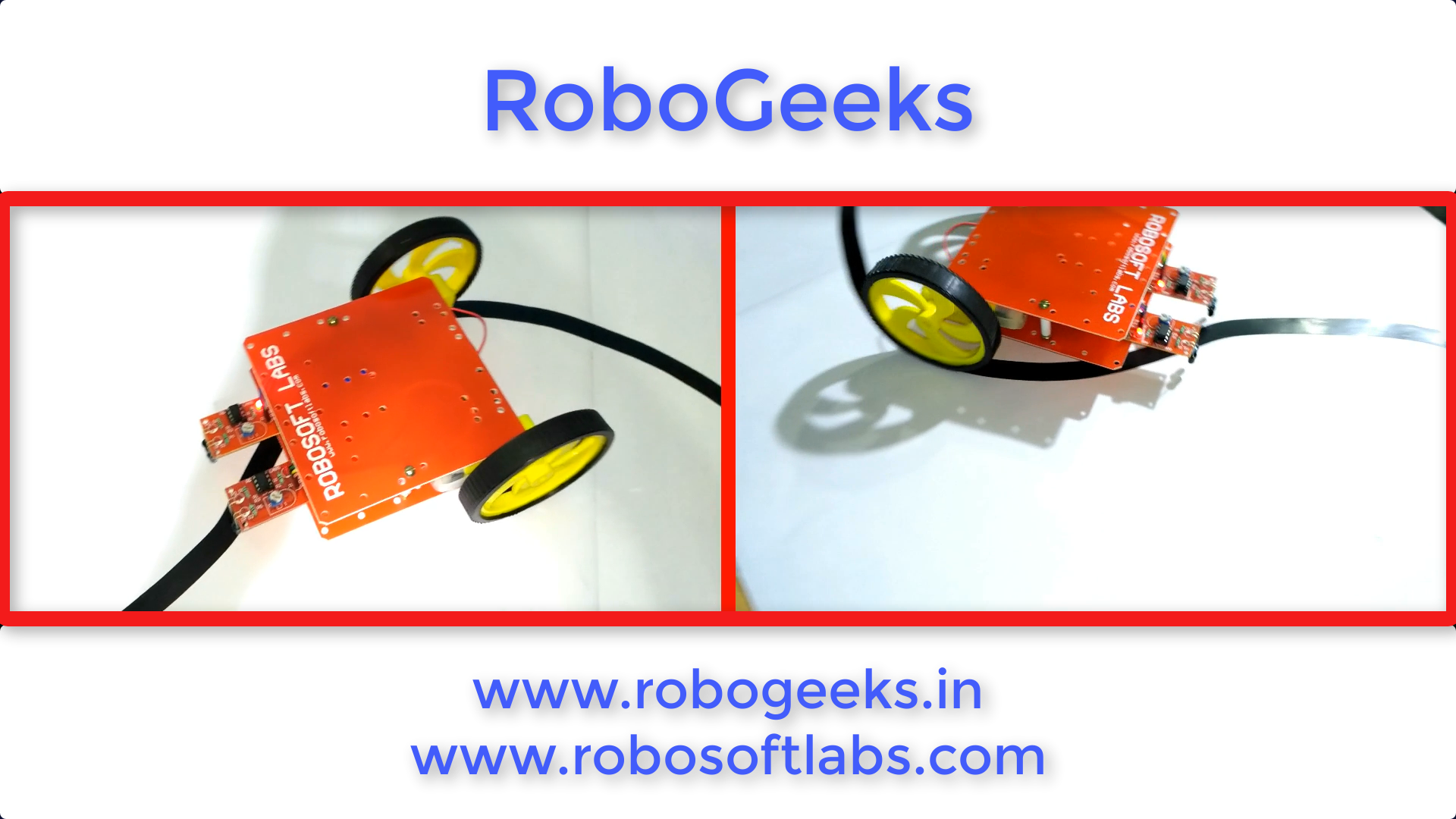 how to make a line following robot without microcontroller robogeeks