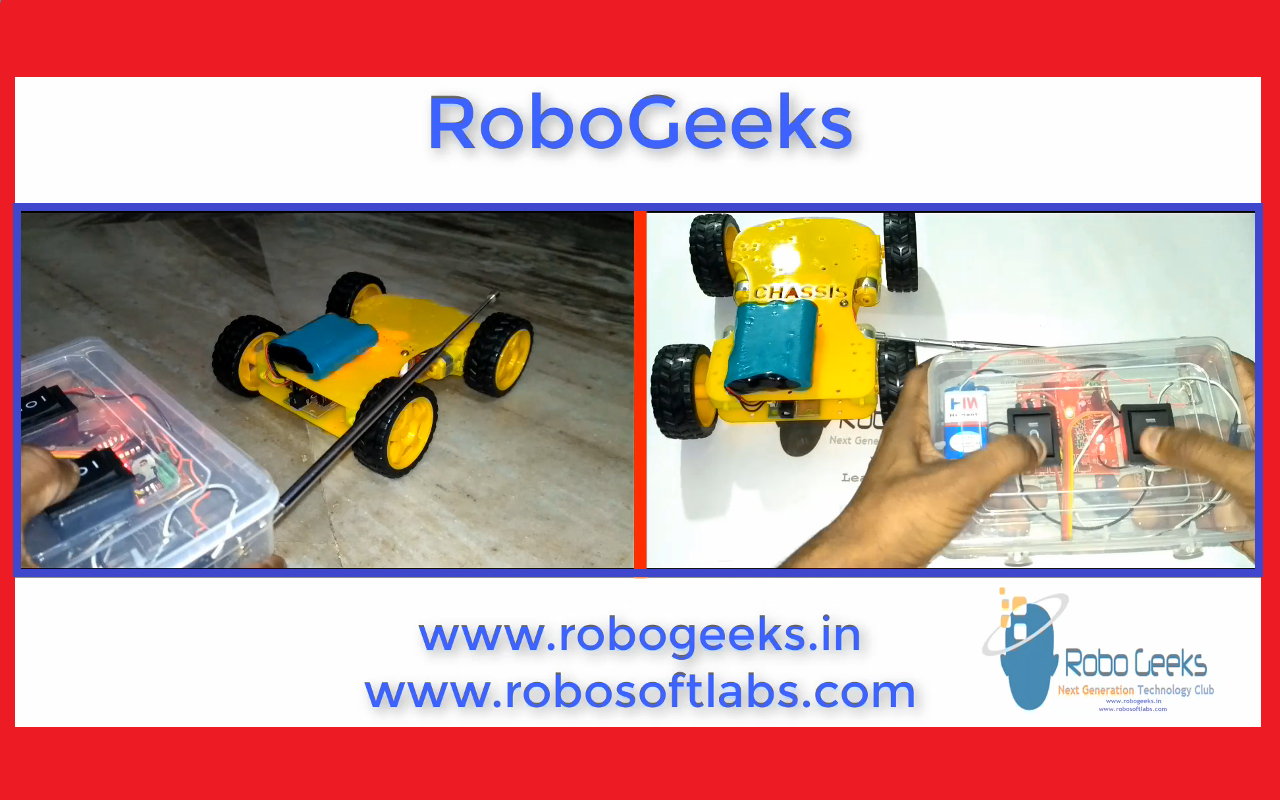How to Make a Remote Control car Robot at home