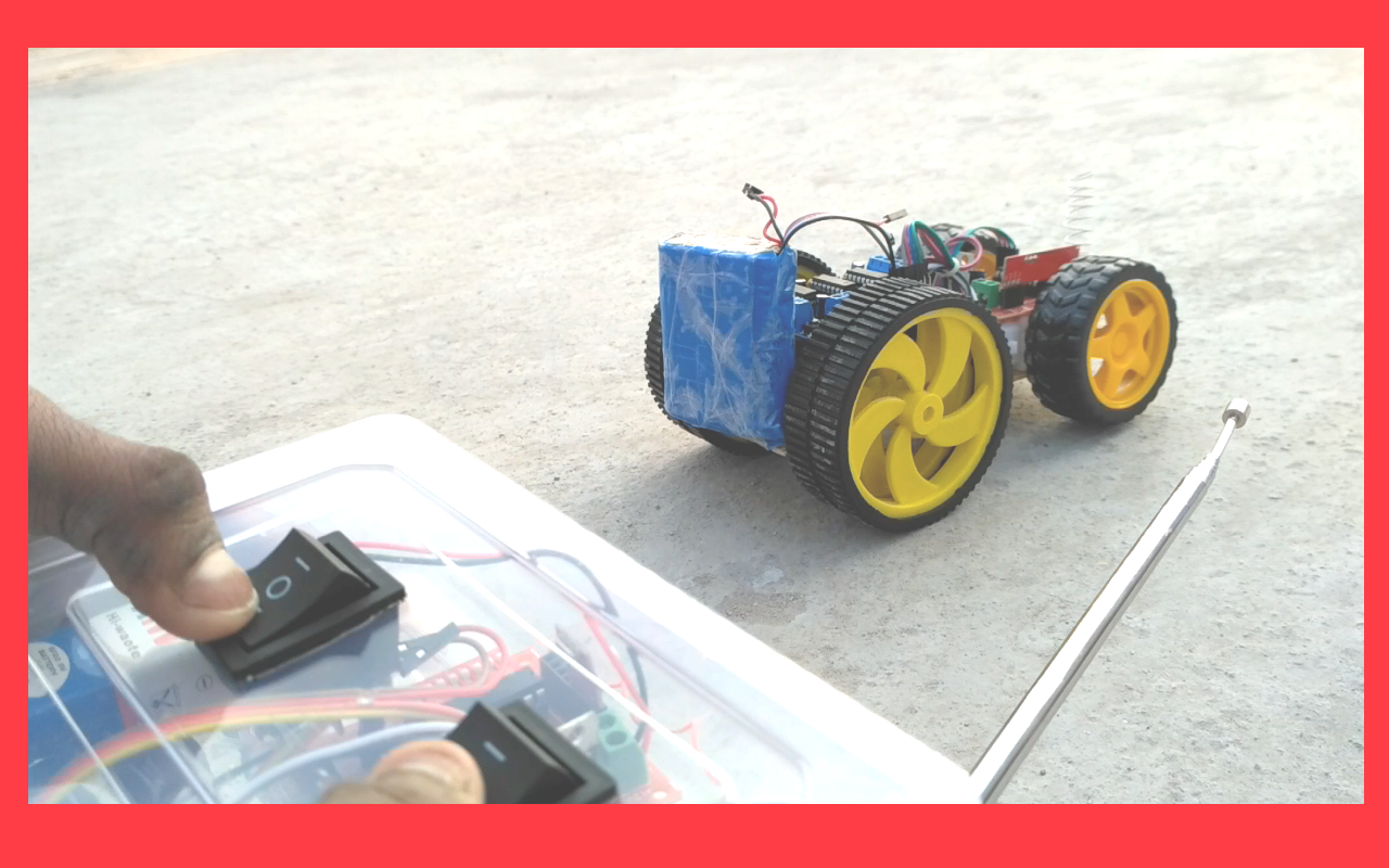 how to make a rc racing car using arduino uno wireless final 2