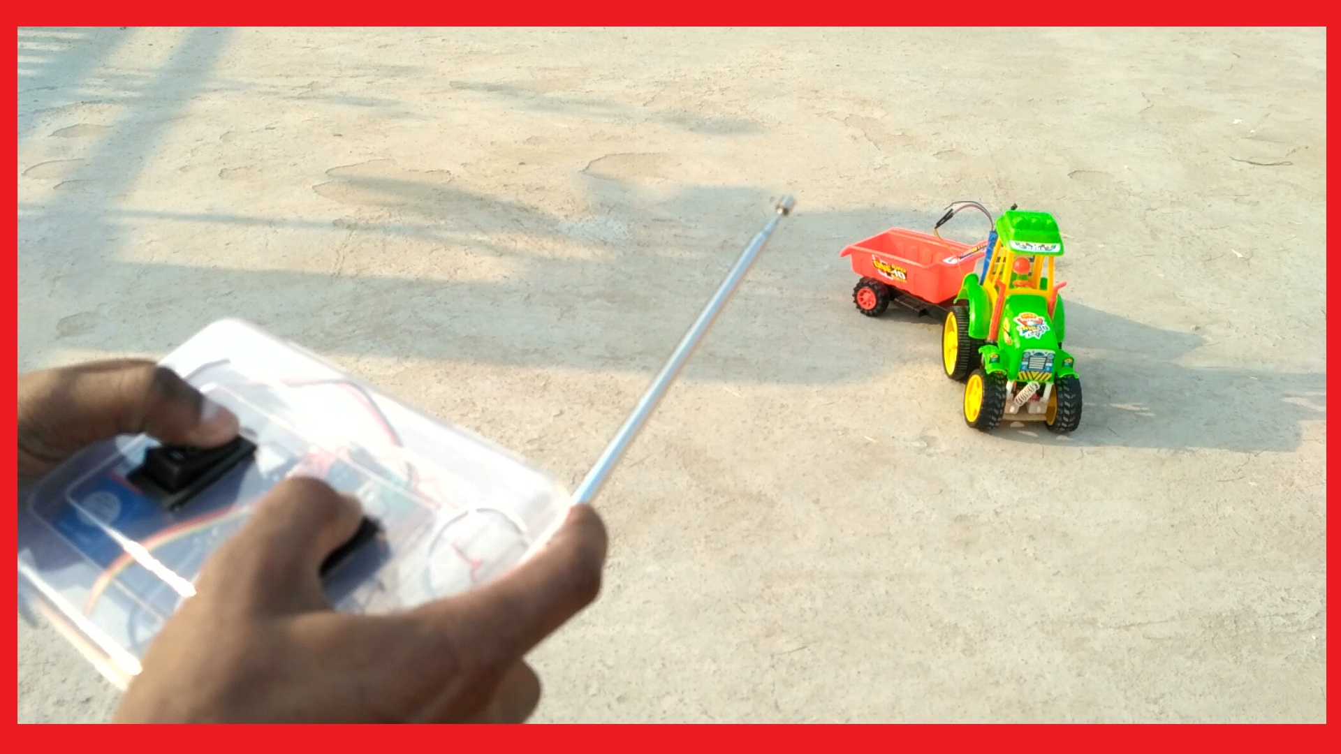 How To Make a RC Tractor with Trolley using Arduino UNO | Wireless | RoboGeeks