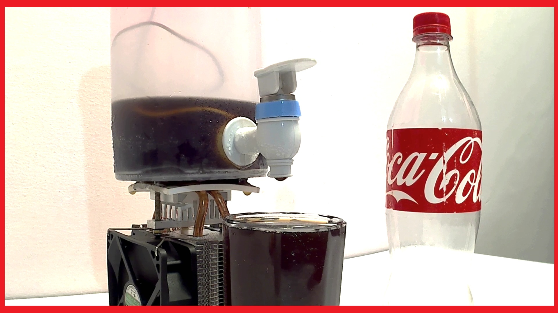 How To Make Coca Cola Soda Cooler Dispenser Fountain Machine | DIY | Life Hacks | Robogeeks