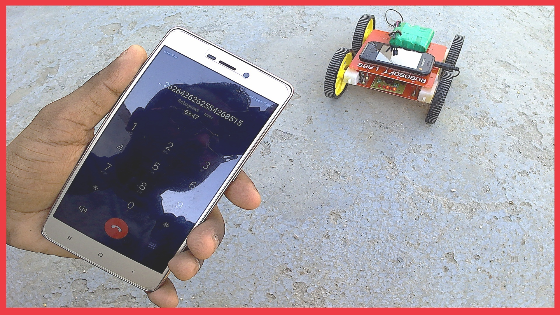 how to make a mobile controlled robot dtmf arduino from anywhere robogeeks